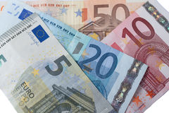 Euro currency banknote Stock Image