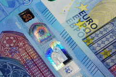 Euro currency banknotes new design Royalty Free Stock Photography