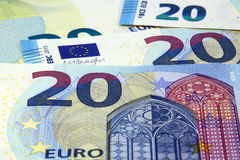 Euro currency banknotes new design Royalty Free Stock Image