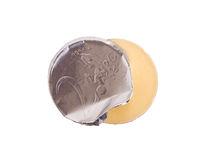 Euro currency, chocolate coins Stock Photography