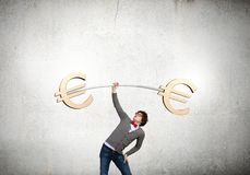 Euro currency concept Royalty Free Stock Photo
