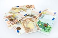 Euro currency money Stock Photos