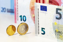 Euro currency. Original photo euro currency still life royalty free stock photo