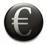 Euro currency sign Royalty Free Stock Photography
