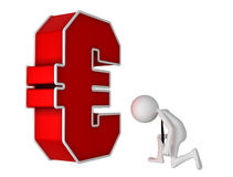Euro currency symbol Stock Images