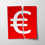 Euro currency symbol. Stock Image