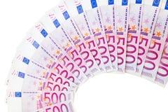 euro- curva 500 Imagens de Stock
