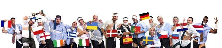 Euro cuvette 2012 Image libre de droits