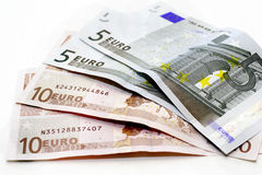 Euro- dólares imagem de stock royalty free