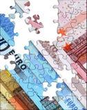 euro d'économie de concept Images libres de droits