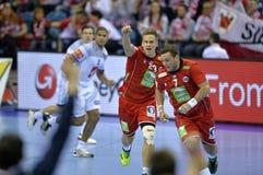 EURO d'EHF 2016 Frances Norvège Image libre de droits