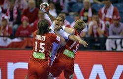 EURO d'EHF 2016 Frances Norvège Photos libres de droits