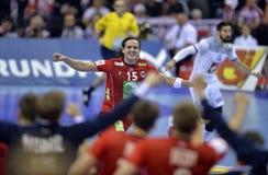EURO d'EHF 2016 Frances Norvège Images stock
