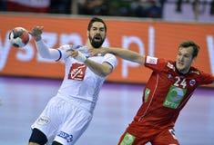 EURO d'EHF 2016 Frances Norvège Images libres de droits