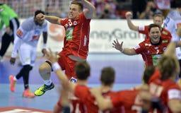 EURO d'EHF 2016 Frances Norvège Photographie stock
