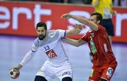 EURO d'EHF 2016 Frances Norvège Image stock