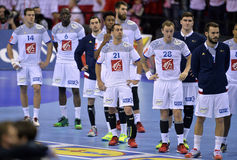 EURO d'EHF 2016 Frances Norvège Photos stock