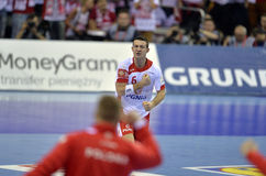 EURO d'EHF Pologne 2016 Croatie Photo stock