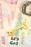 Euro da libra dos estrangeiros Fotos de Stock