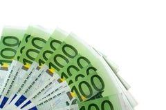 Euro da nota de banco 100 Foto de Stock Royalty Free