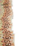 Euro de Billetes de fotografia de stock