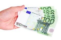Euro de Billetes De Images stock