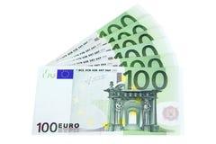 Euro de Billetes De Image stock