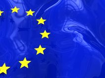 euro de fond Image stock