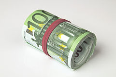 Euro de Hundert fotografia de stock