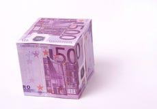 EURO de l'argent 500 Images libres de droits