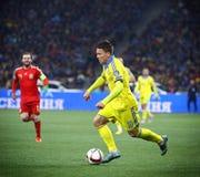 EURO de l'UEFA 2016 jeux de qualification Ukraine v Espagne Photos libres de droits