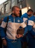 EURO de l'UEFA Slovaquie 2016 - l'Ukraine s'assortissent le 8 septembre 2015 Images libres de droits