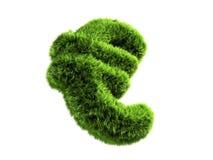 Euro de la hierba ilustración del vector