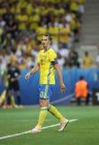 EURO 2016 DE LA UEFA: Suecia v Bélgica Imagen de archivo
