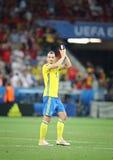 EURO 2016 DE LA UEFA: Suecia v Bélgica Fotos de archivo