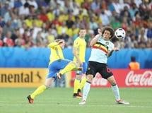 EURO 2016 DE LA UEFA: Suecia v Bélgica Fotos de archivo libres de regalías