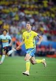 EURO 2016 DE LA UEFA: Suecia v Bélgica Imagen de archivo libre de regalías