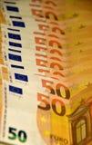 Euro de Monay Foto de archivo