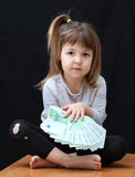 Euro de Monay Imagens de Stock