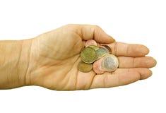 Euro de petite modification Photographie stock libre de droits