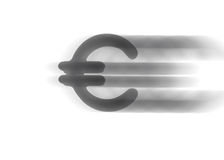 Euro de symbole illustration libre de droits