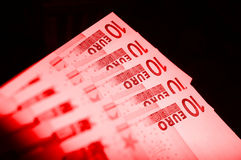 Euro Debit Royalty Free Stock Photography