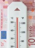 Euro debt Royalty Free Stock Photo