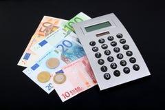 Euro dei soldi Immagini Stock Libere da Diritti