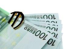 Euro del dinero Imagenes de archivo