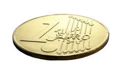 Euro del oro imágenes de archivo libres de regalías