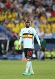 EURO 2016 DELL'UEFA: La Svezia v Belgio Fotografia Stock Libera da Diritti
