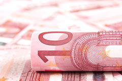 Euro della priorità bassa 10 Immagine Stock Libera da Diritti