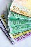 Euro delle banconote Fotografia Stock