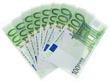 Euro denominazioni Immagini Stock